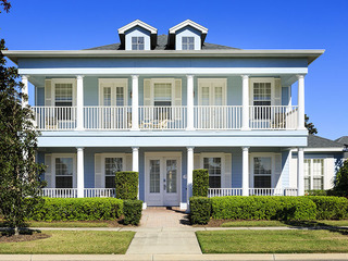 W044 4Br 'Blue House' on Reunion Resort