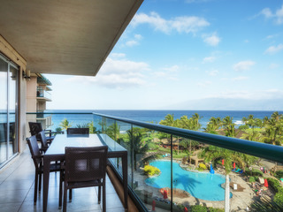Honua Kai- Hokulani 509- Ocean view from INSIDE! 2b/2b
