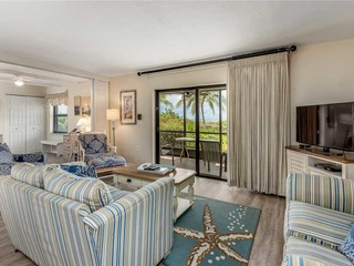 #521 Sanibel Moorings Gulf Front