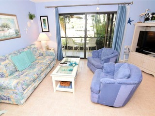#1441 Sanibel Moorings Dock View