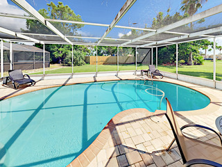 2BR w/ Dock & Private Saltwater Pool