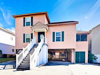 Spacious 4BR Beach Home w/ Golf Cart & Sun Porch