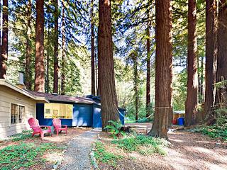 2BR Redwood Retreat w/Access to Austin Creek Beach