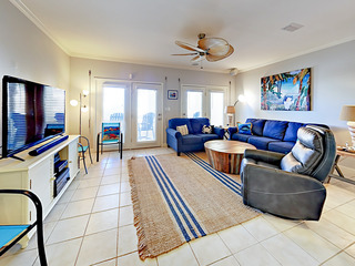 Updated 4BR w/ Pool & Balcony – Walk to Beach!