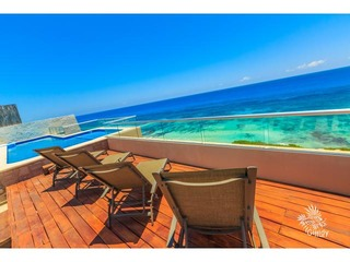 Spectacular Penthouse Private Pool 4th Bedroom Isla Mujeres33 OceanView
