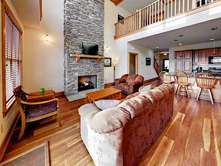 Scenic Wolf Resort w/ Fireplace, Decks & Views