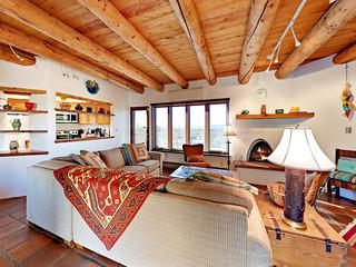 Jemez Mountain Views! 3BR + Den w/ Deck & Courtyard