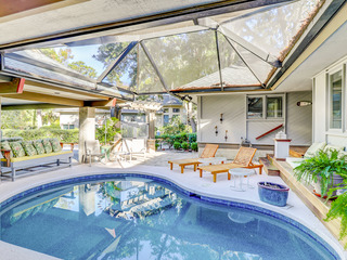 Sea Pines Paradise- Private Courtyard w/ Pool