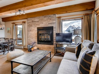 Unique 2 Br Condo With Fireplace