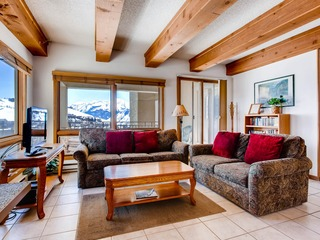 View of Mt. Crested Butte and Lifts 2 Br Condo