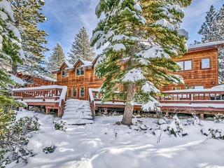 Amazing 4 Br Log Cabin in Northstar