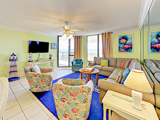 Gulf-Front Gem w/ Balcony, Pools & Beach Access!