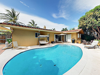 New Listing! Spanish-style Bungalow w/Pool, Nearby Beach