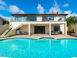 New Listing! Stylish Home w/ Pool-- Walk to Beach