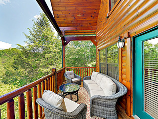 New Listing! 2 Luxe Mountain Cabins, Sleeps 24!