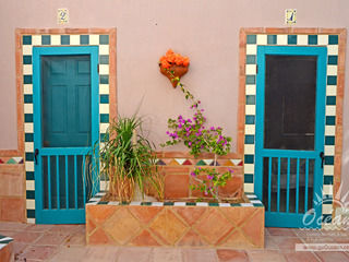 Hacienda del Mar- Courtyard