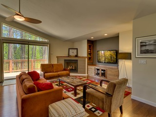 Contemporary Tahoe Cabin - image