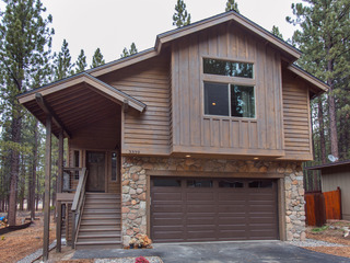 3BR/2.5BA New Breathtaking Mountain House, South Lake Tahoe