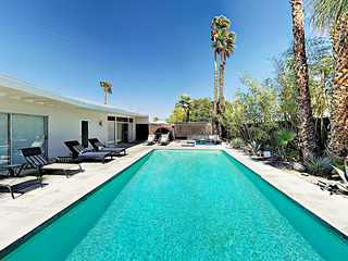3BR/2BA Tres Palmas Pool in Palm Springs Jack LaLanne Home