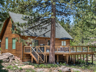 Wooded secluded feel in Truckee