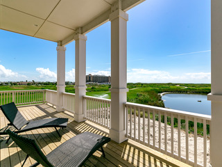Brand New, Gulf Views for 12 on the Golf Course