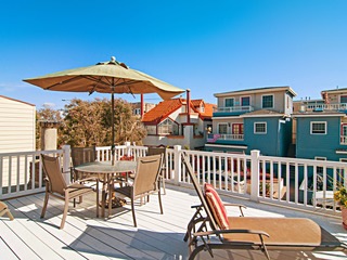 Ocean View Roof Deck in Mission Beach