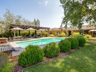 Gracious Living, Pool, and Privacy in Wine Country, Sonoma