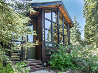 Forest Lodge in Alpine Meadows - image