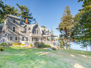 East Boothbay Oceanfront Home