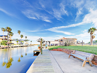 Canal Front Home in City by the Sea w/ Boat Dock