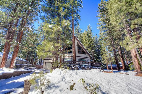 Great Value Chalet in the Woods Vacation Rental in South Lake Tahoe, CA - RedAwning