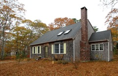 Woodsy Cape Cod Home