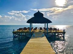 Belize5: VeLento Oceanfront Rentals: 3 bed 3 bath Villa #1