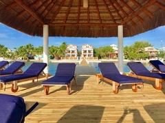 Belize7: VeLento Oceanfront Rentals: 3 bed 3 bath Villa #3