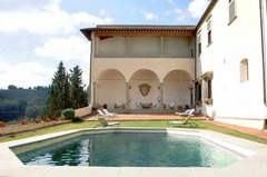 Renaissance Palace with Pool and Views, Chianti and Siena