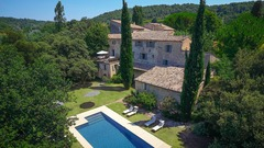 Luberon, Former Benedictine Abbey, Now Chic Villa with Pool