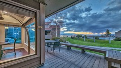 Live large in this spacious townhome with stunning lake view