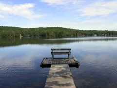 5 Acres Lakefront Estate Villa w/ private Beach
