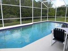 WR001OR- 4 Bed 2.5 Bathroom Pool Home Villa At Westridge Near Disney