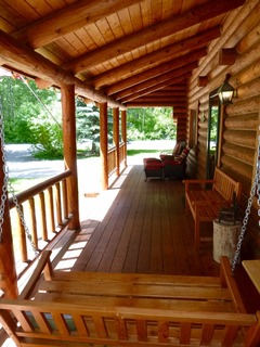 Beautiful Log House by Draper Preserve And Big Wood River