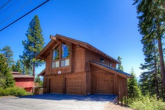 Panoramic Views from Massive Deck of North Tahoe Home