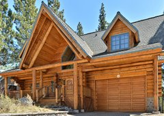 3BR Custom, Handmade Log Home
