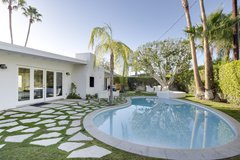 4BR/3BA Ultra-modern Palm Springs House with Pool
