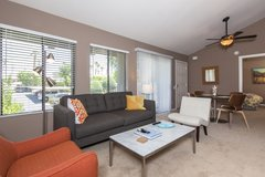 Stylish 2BR Palm Springs Condo with Great Amenities