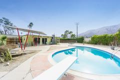 Oscar Winner's Home in Palm Springs