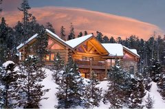 Epic Log Cabin in the Pines
